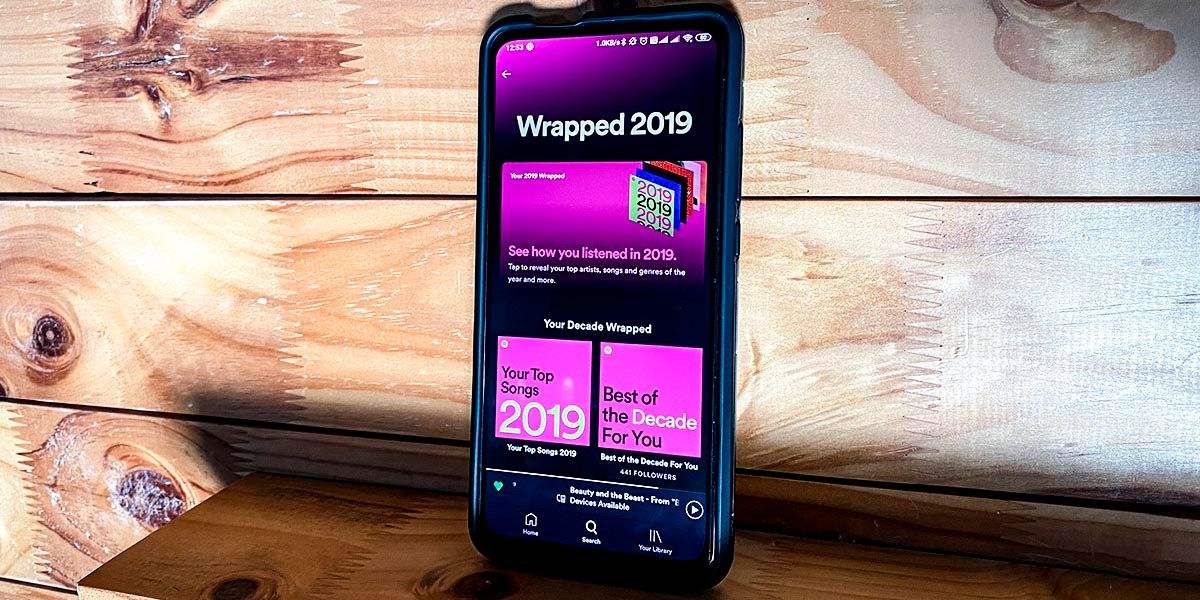 Spotify lanza el Wrapped 2019 y de la decada
