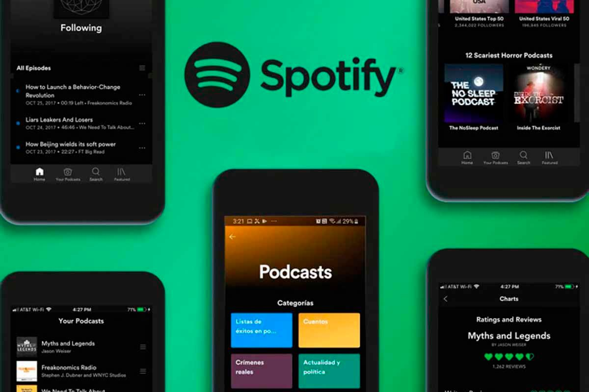 Spotify lanza la monetización para los podcast