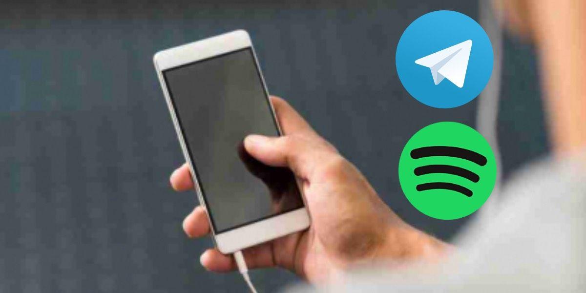 Spotify y Telegram
