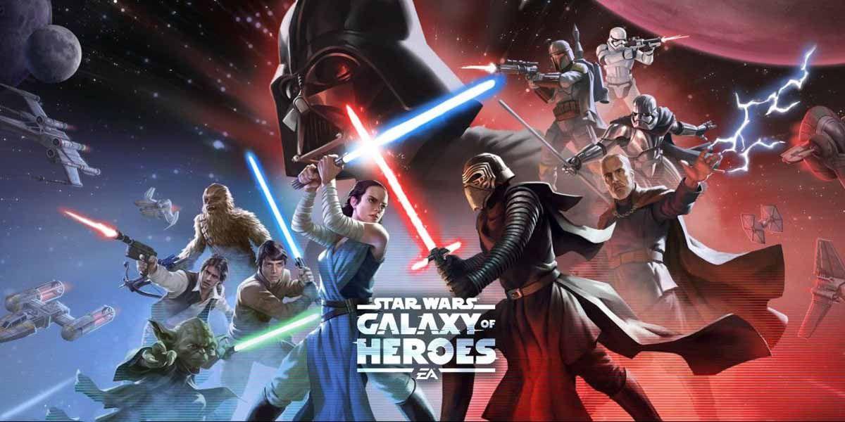 Star Wars Galaxy of Heroes un juego de rol que te dará horas de diversión