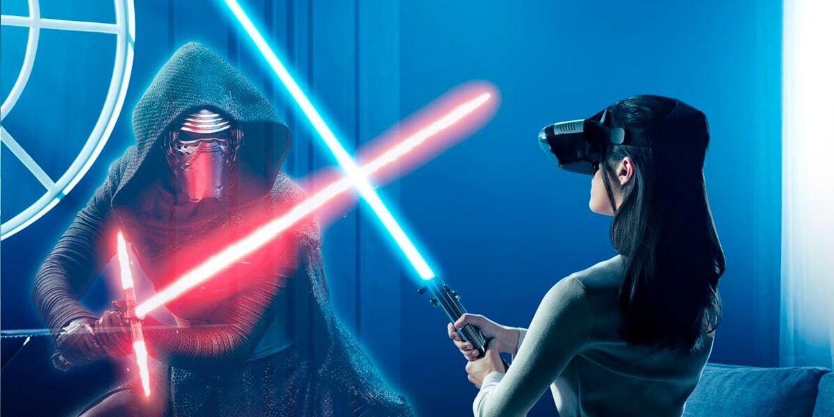 Star Wars desafios jedi AR