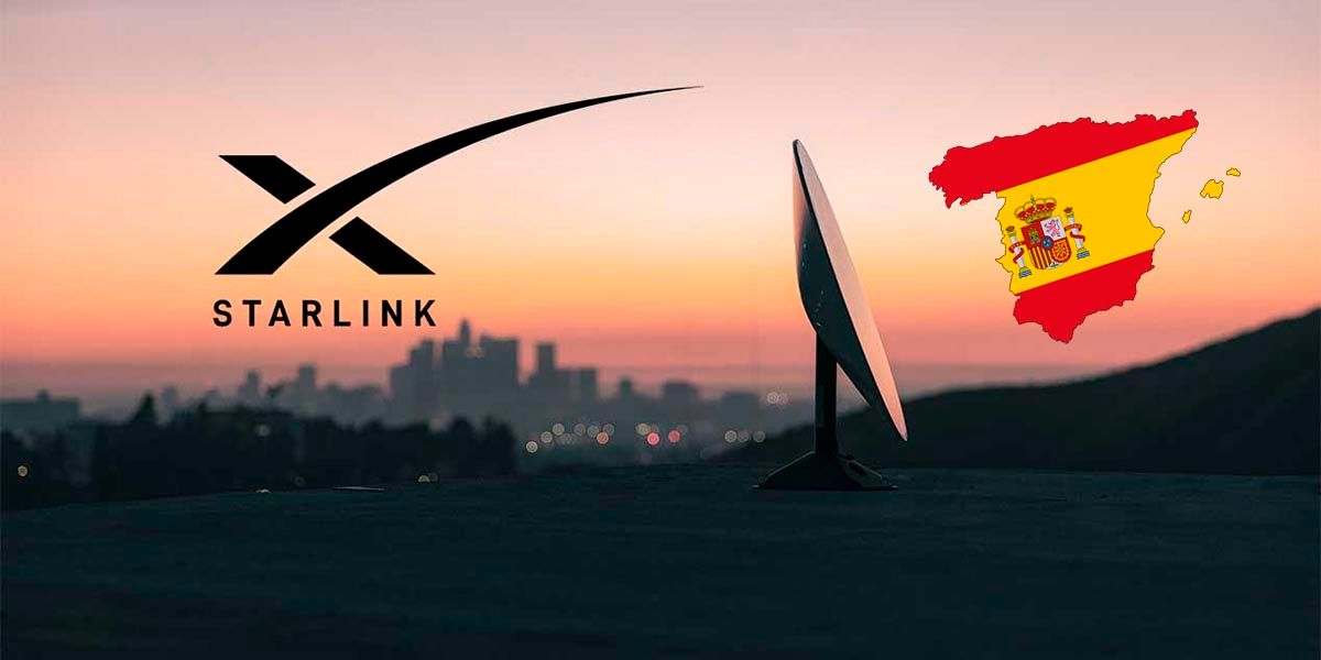 Starlink tambien llegara a España