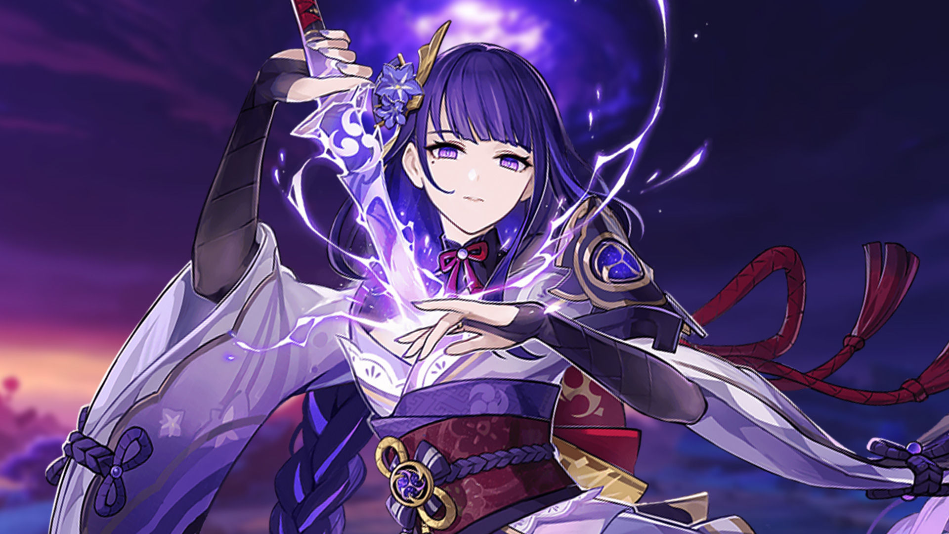 Stats del personaje Raiden Shogun Baal Makoto en Genshin Impact