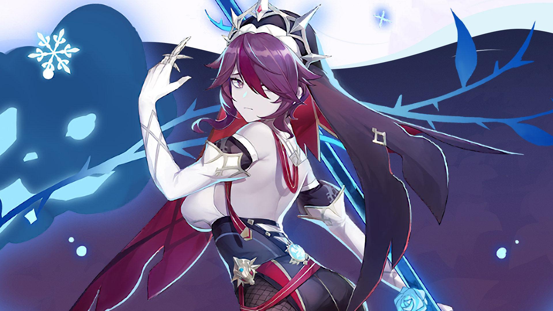 Stats del personaje Rosaria en Genshin Impact