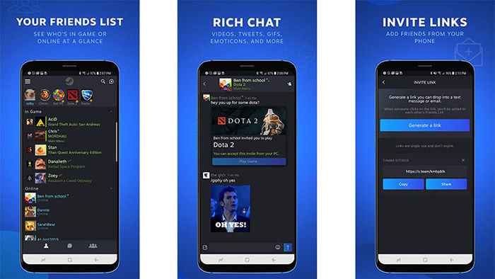 Steam Chat para Android