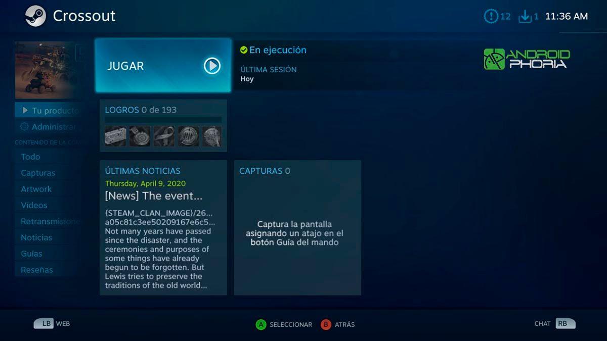 Steam en Nvidia Shield TV