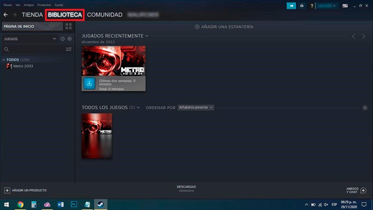 Steam para PC