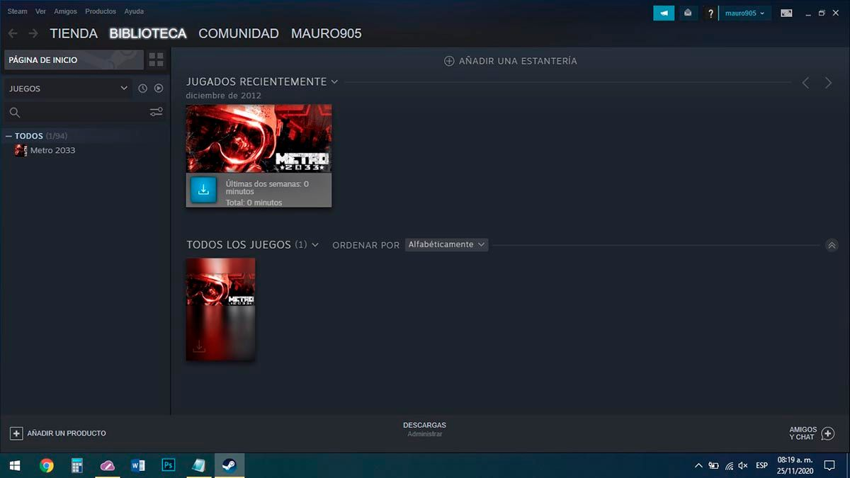 Steam para PC