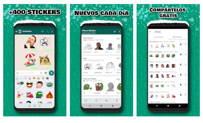 Stickers de memes WhatsApp