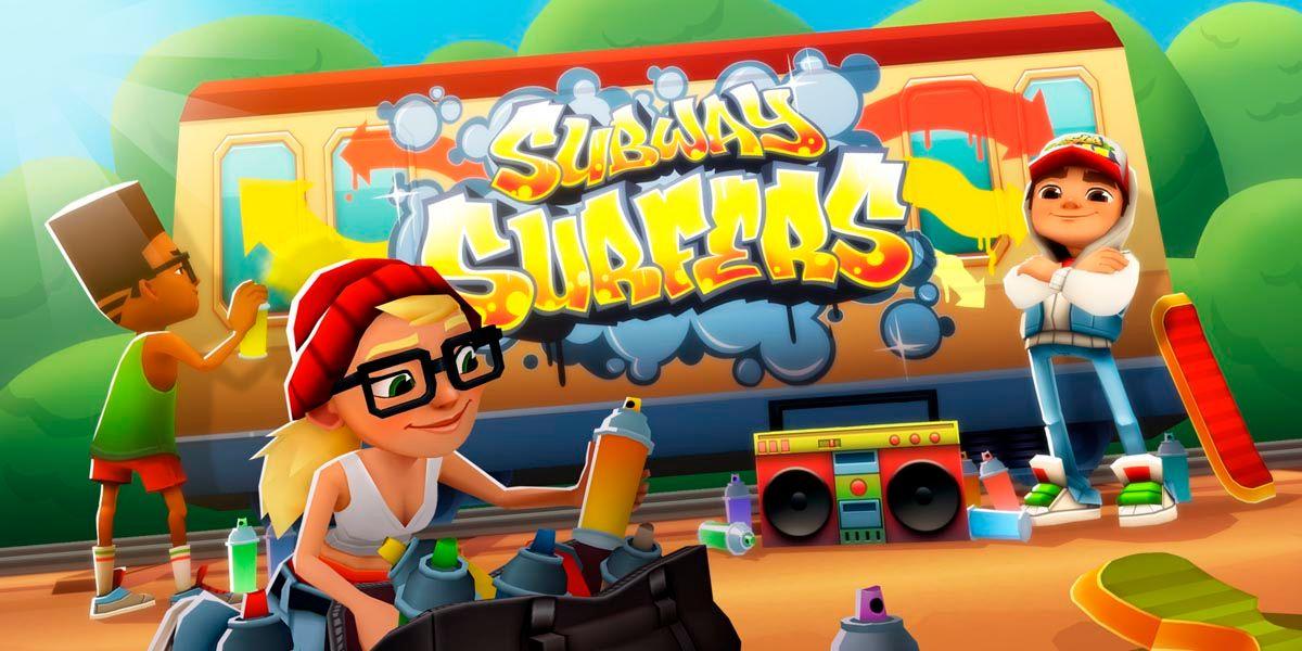 Subway Surfers juego mas descargado Android decada