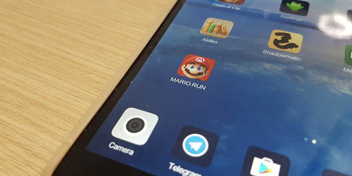 Super Mario Run no funciona Xiaomi