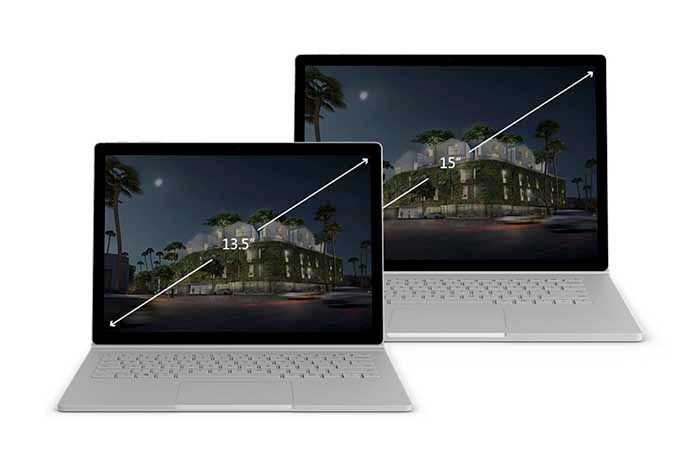 Surface Book 2 13 y 15 pulgadas