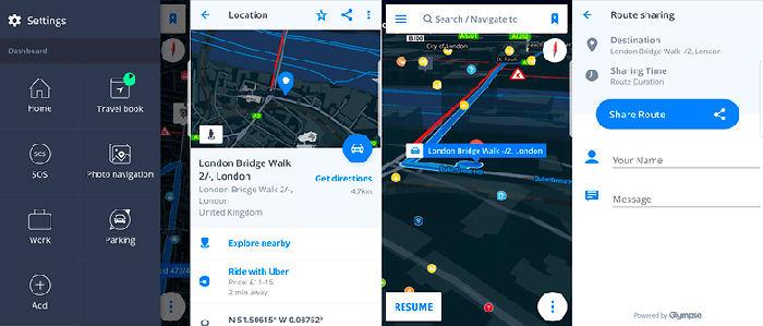 Sygic GPS Navigation y; Maps para Android