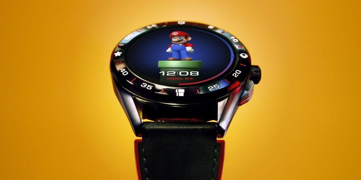 TAG Heuer Connected de Super Mario