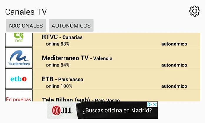 TV TDT de España Android
