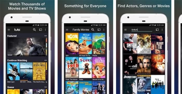 TV Tubi -TV y peliculas Gratis para Android