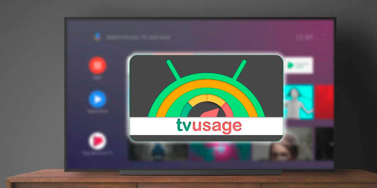 TVUsage la app de bienestar digital y estadísticas tiempo de uso para Android TV