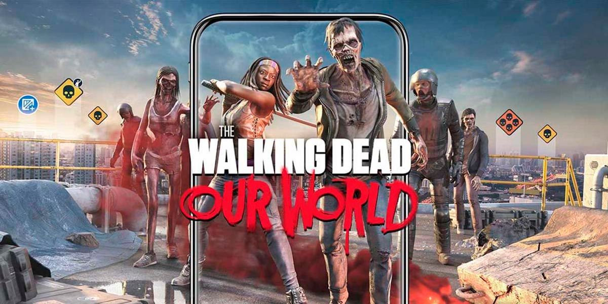 TWD Our World juego AR