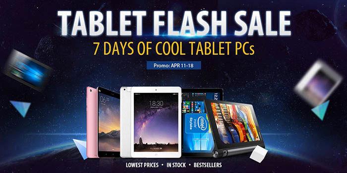 Tablets de oferta en GearBest