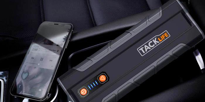 Tacklife T8 Max arrancador de coches potente