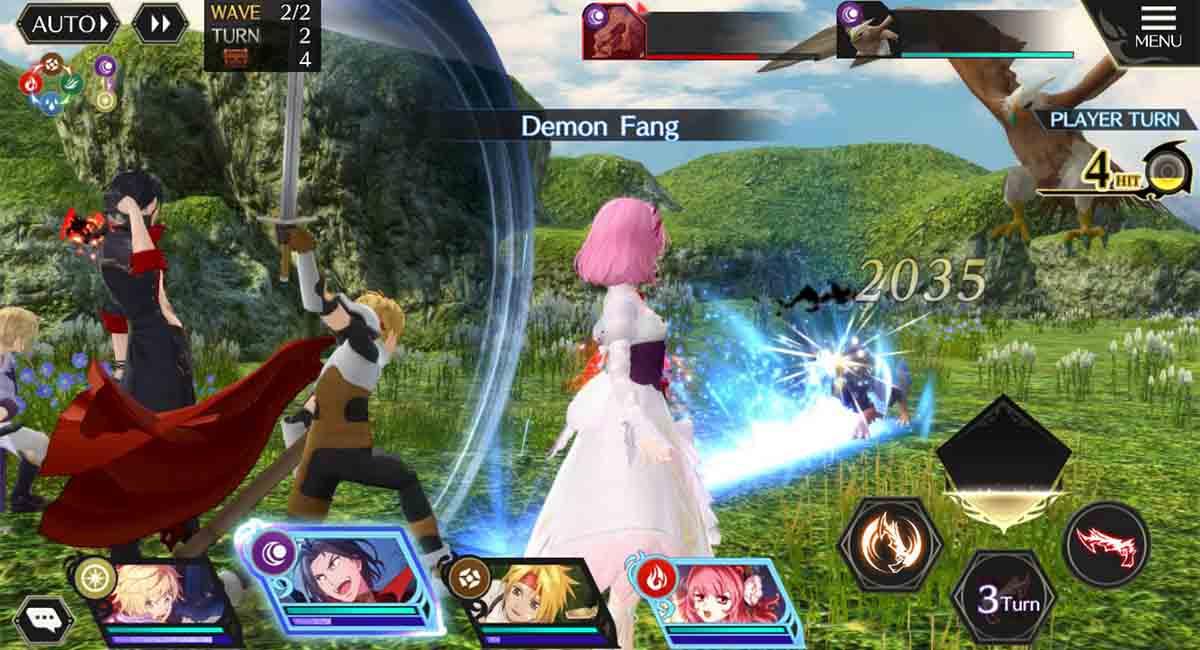 Tales of Crestoria juego gacha RPG