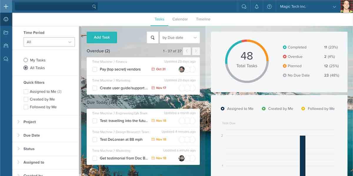 Taskworld app alternativa a Trello