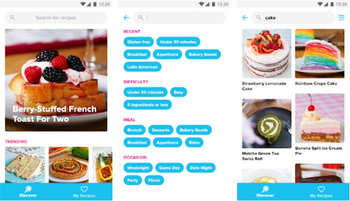 Tasty app Android