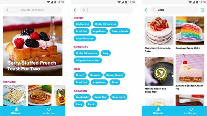 Tasty recetas para Android