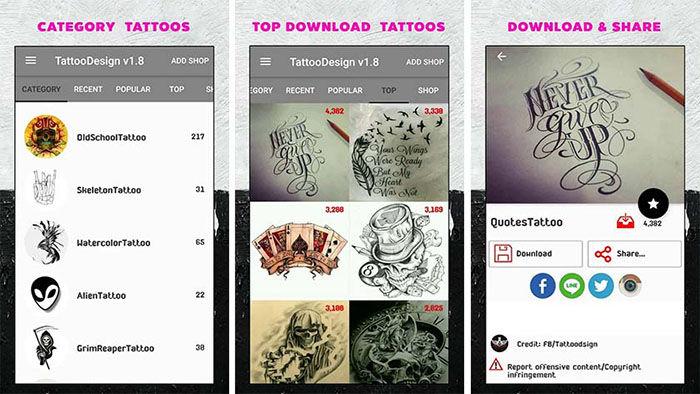 Las 5 Mejores Aplicaciones Para Diseñar Tatuajes