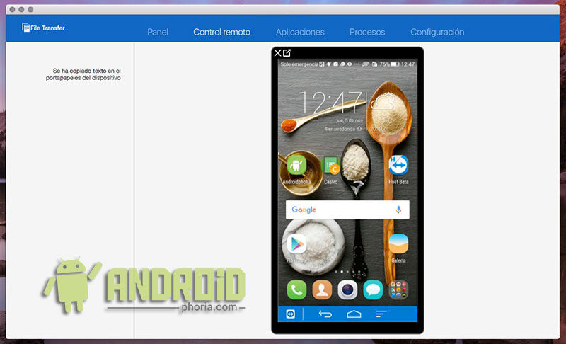 TeamViewer con Android