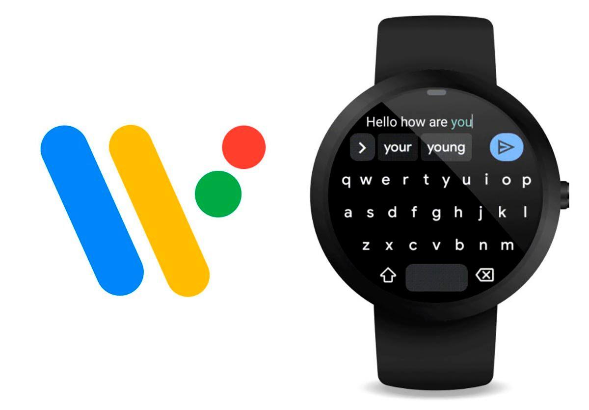 Teclado GBoard de Google para Wear OS