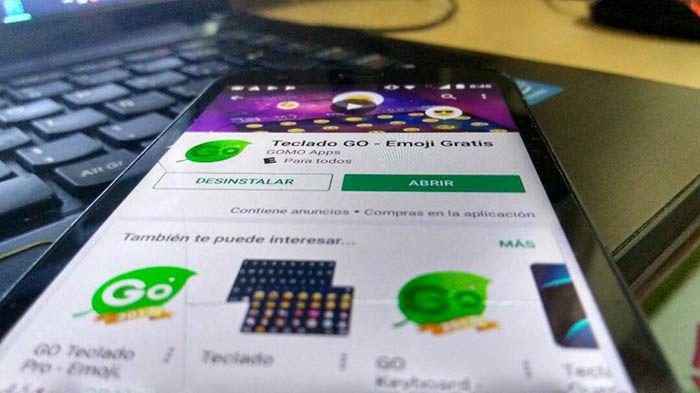 Teclado GO tiene adwares