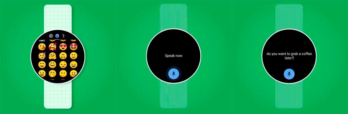 Teclado de Google para Wear OS
