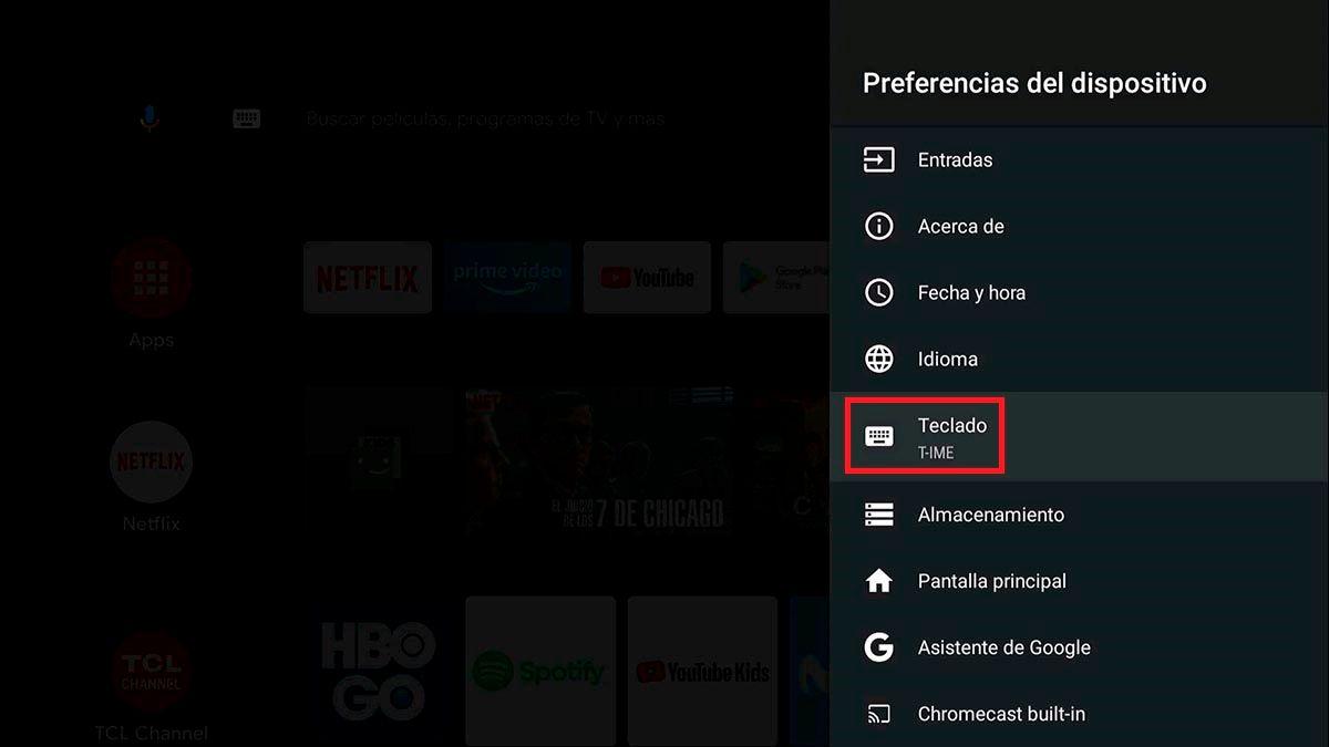 Teclados para Android™ TV