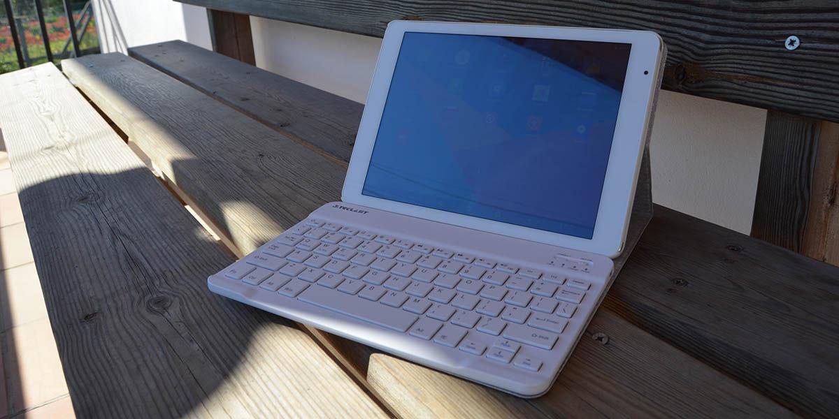Teclast X98 Plus Android y teclado
