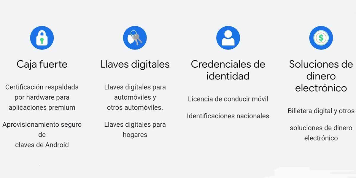 Tecnologías que desarrollará el Android Ready SE Alliance