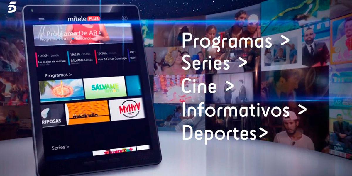 Telecinco servicio de streaming