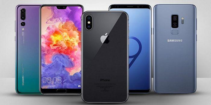 Telefonos Gama Alta 2018