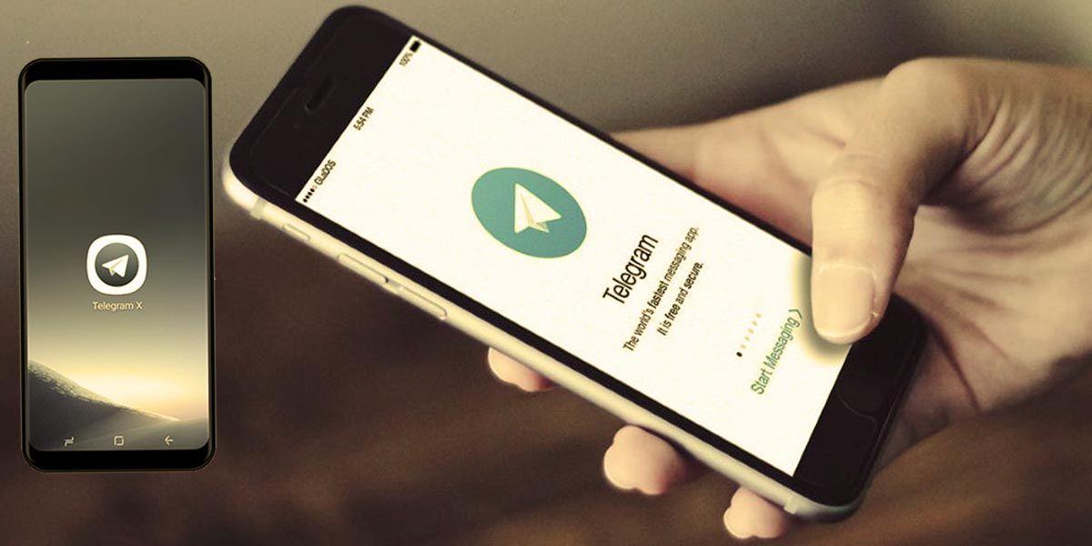 Telegram X aplicación