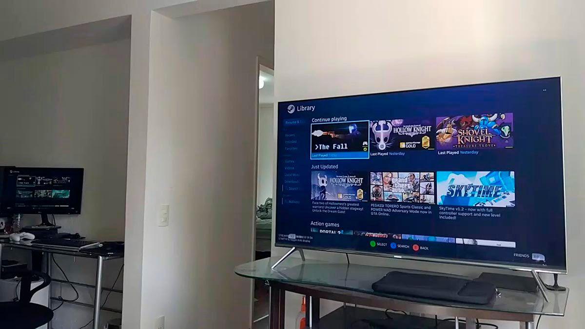 Televisores Samsung compatibles con Steam Link
