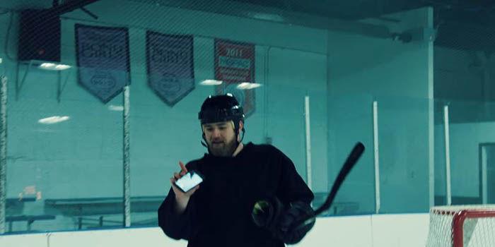 Test Hockey Galaxy S6 Active