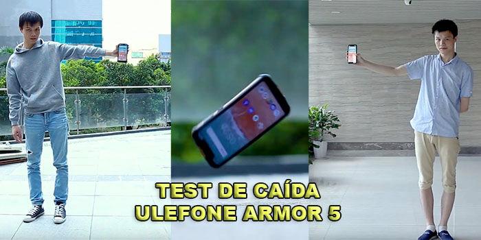 Test de caída del Ulefone Armor 5