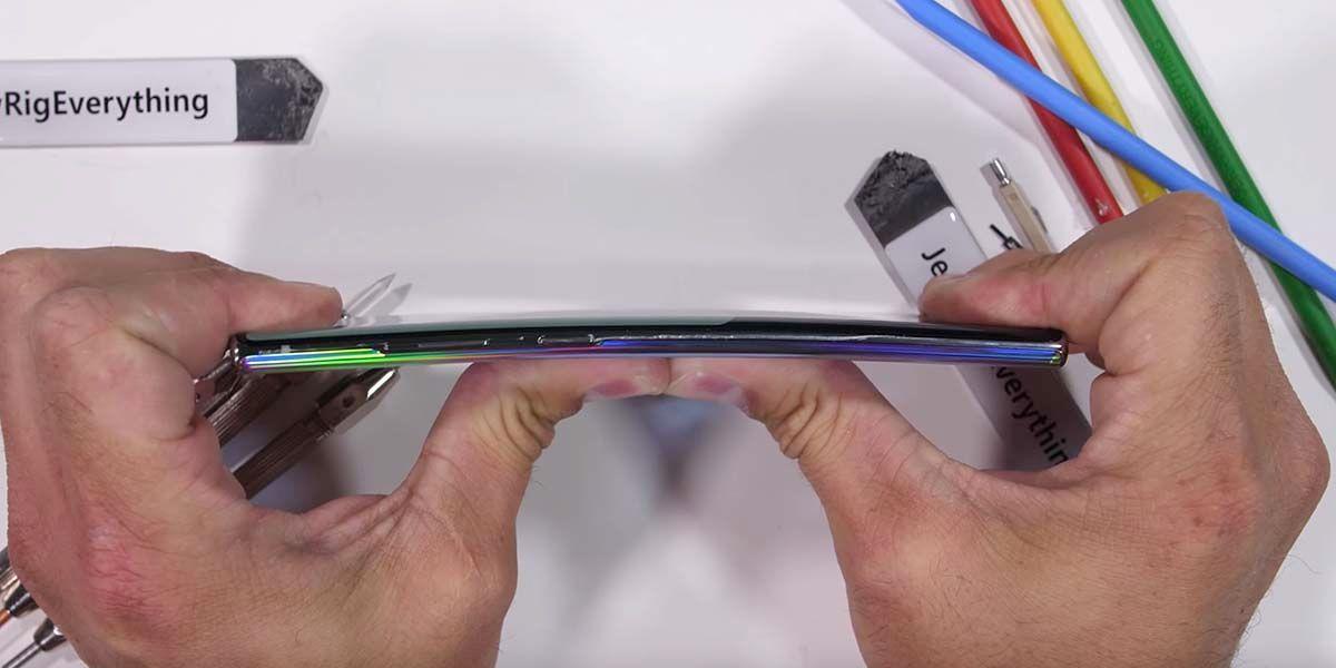 Test de resistencia Galaxy Note 10