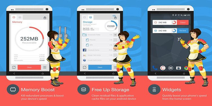 The Cleaner para Android