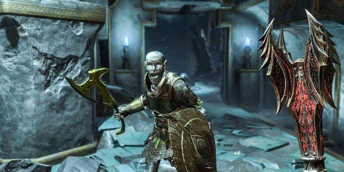 The Elder Scrolls Blades combates