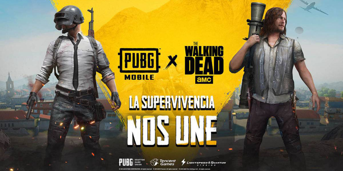 The Walking Dead llega a PUBG Mobile