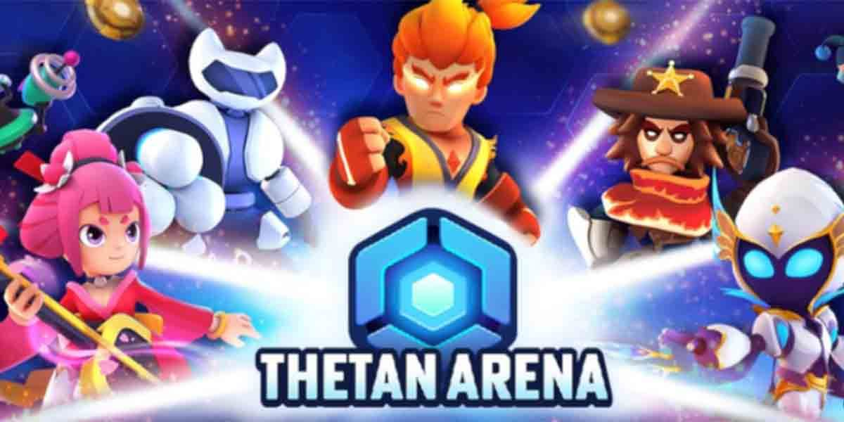Thetan Arena juego NFT