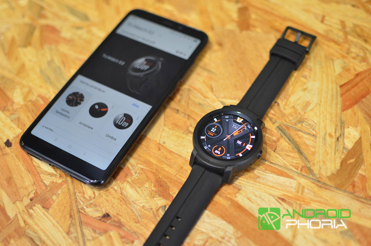 TicWatch E2 con movil