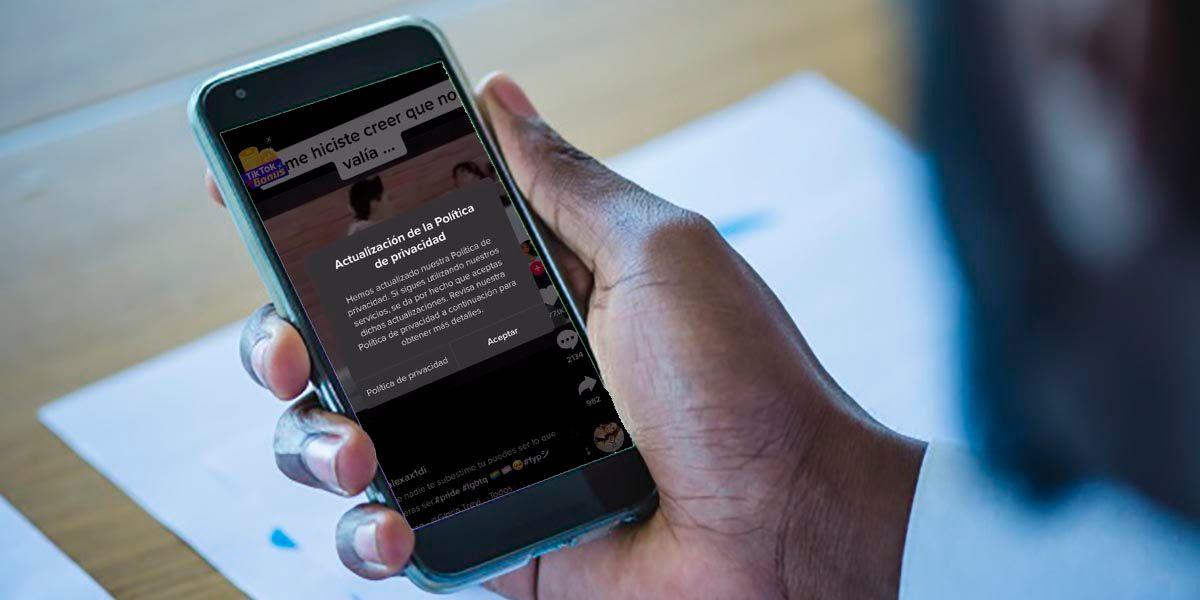 TikTok nueva politica de privacidad 2021