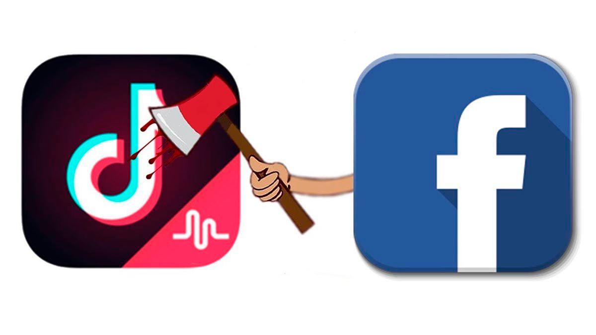 TikTok va por Facebook